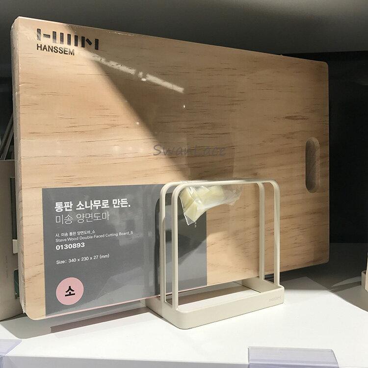 SwanLace優選 品牌漢森 鐵藝簡約北歐寬窄格廚房收納架砧板架