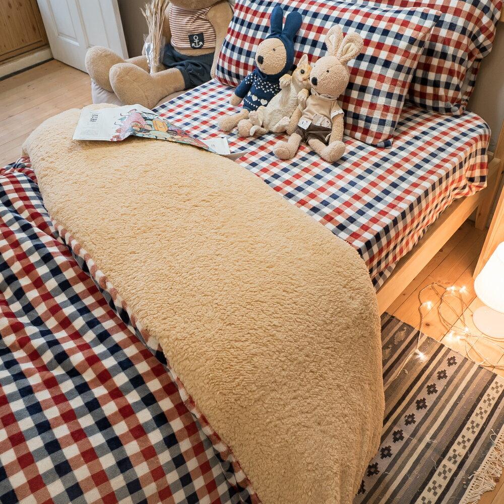 極度保暖法蘭絨三款床包+雙人被毯組合 (單人 / 雙人 / 加大可選) ♥️ 觸感細緻 溫暖過冬 福袋商品 5