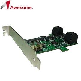 Awesome PCI/PCIe槽SATA 1轉5 Port Multiplier擴充卡 AWD-ST-172A