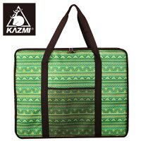 新手露營用品推薦到【露營趣】中和 KAZMI K4T3B006 經典民族風折疊桌收納袋 適用SWISS MILITARY S3T3U015 行動廚房