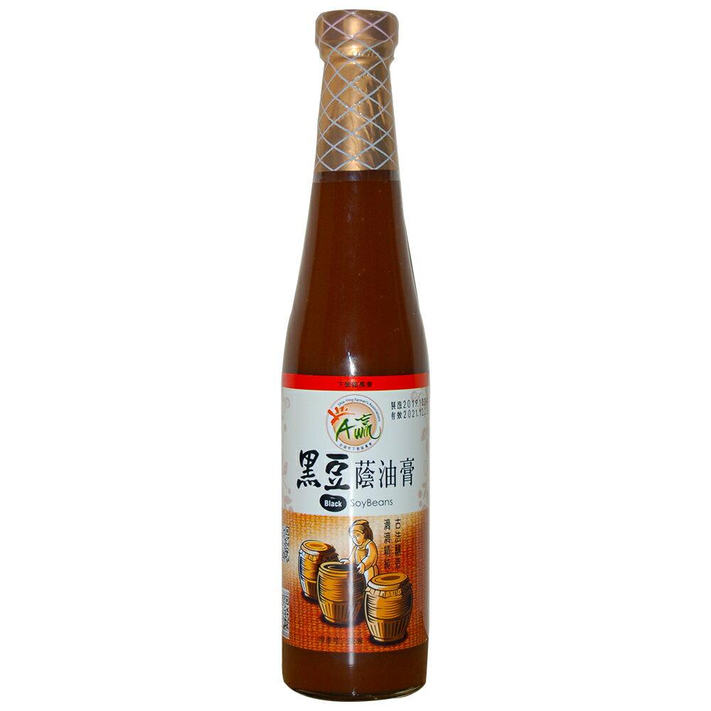 【下營農會】黑豆蔭油膏 -420ml-瓶(1瓶組)