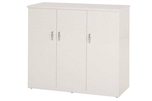 【石川家居】858-01白色鞋櫃(CT-315)#訂製預購款式#環保塑鋼P無毒防霉易清潔