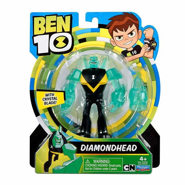 《BEN10》經典五吋公仔-鑽石戰神