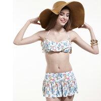 比基尼/泳裝/泳衣到◆Let's Jet 雷氏吉兒◆ 甜美荷葉邊bikini 比基尼泳裝- 型號1800-07