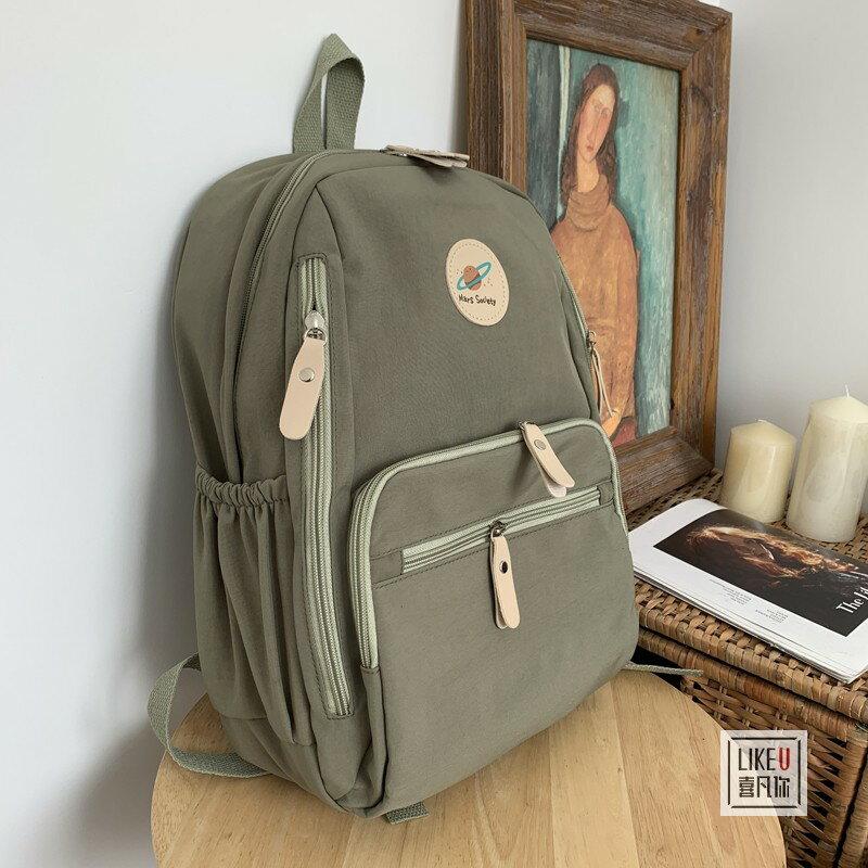 2020韓國新款雙肩包男女高中大學生書包潮流背包運動旅行電腦包