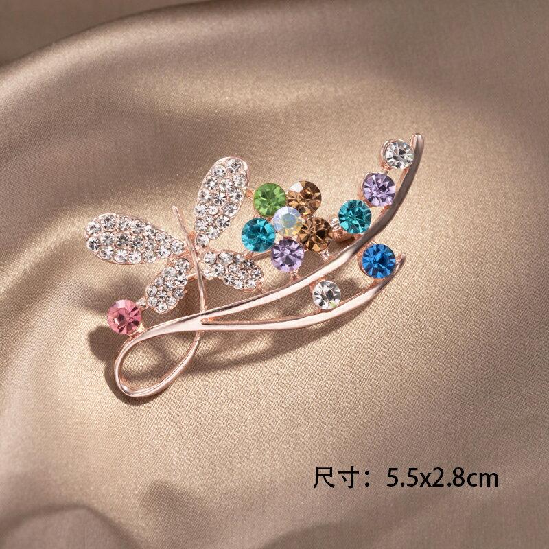 胸針  韓國氣質珍珠胸針女高檔西裝胸花ins潮個性毛衣配飾大衣扣子別針『CM396437』