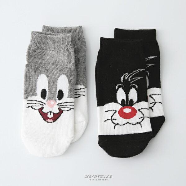 童襪可愛卡通兔寶寶童襪[NRSC4]柒彩年代