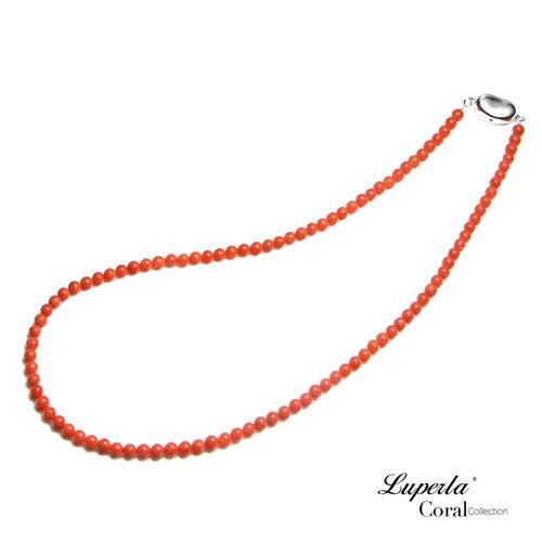 大東山珠寶 嬌貴 全紅沙丁珊瑚項鍊 0