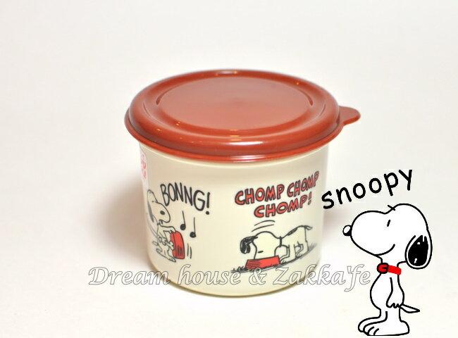 日本進口 Snoopy 史努比 圓形 便當盒/保鮮盒 210ml 《 日本製 》★ 夢想家精品家飾 ★