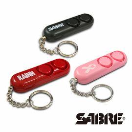 弘瀚--SABRE沙豹防身警報器 110高分貝隨身警報器 (黑色/粉紅色/紅色)