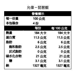 【小可生鮮】允偉 琵琶蝦 炸蝦 10入/盒