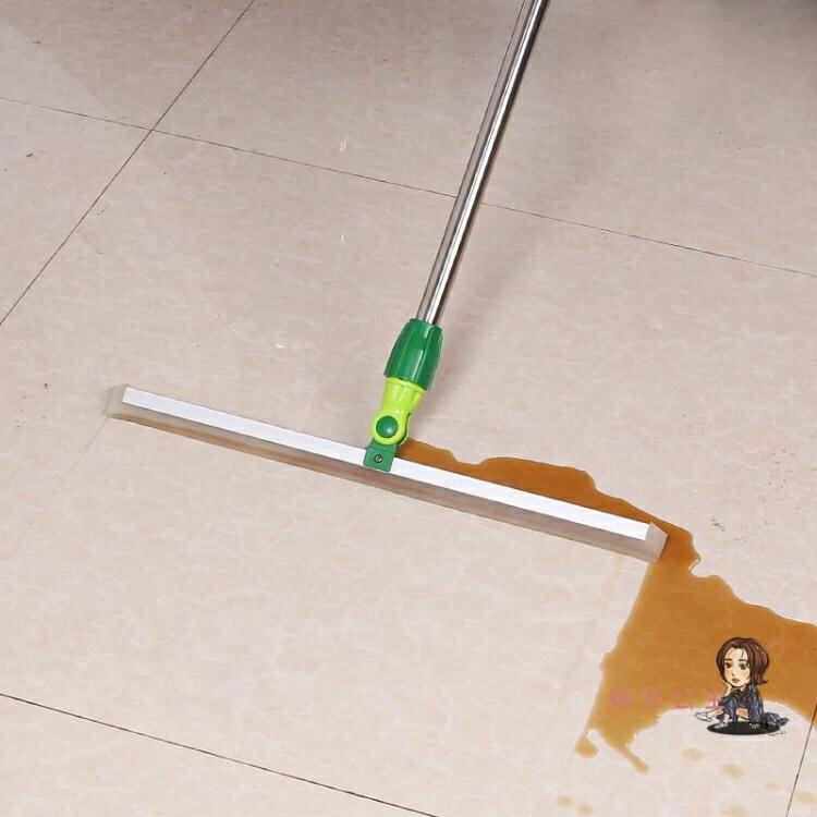 【八折】地板刮水器 硅膠刮水器地刮衛生間瓷磚木地板家用地面推水器掃地神器魔術掃把T
