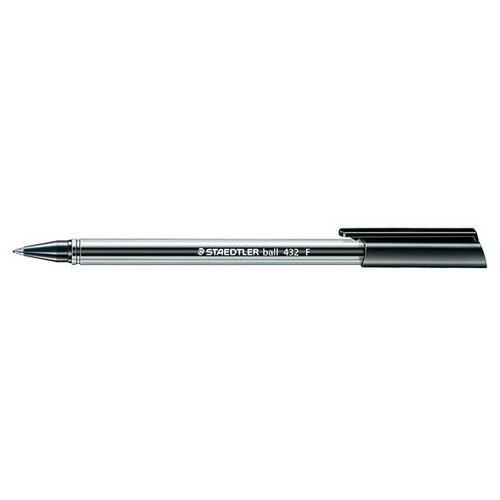 【STAEDTLER】 MS432F-9 黑色三角原子筆