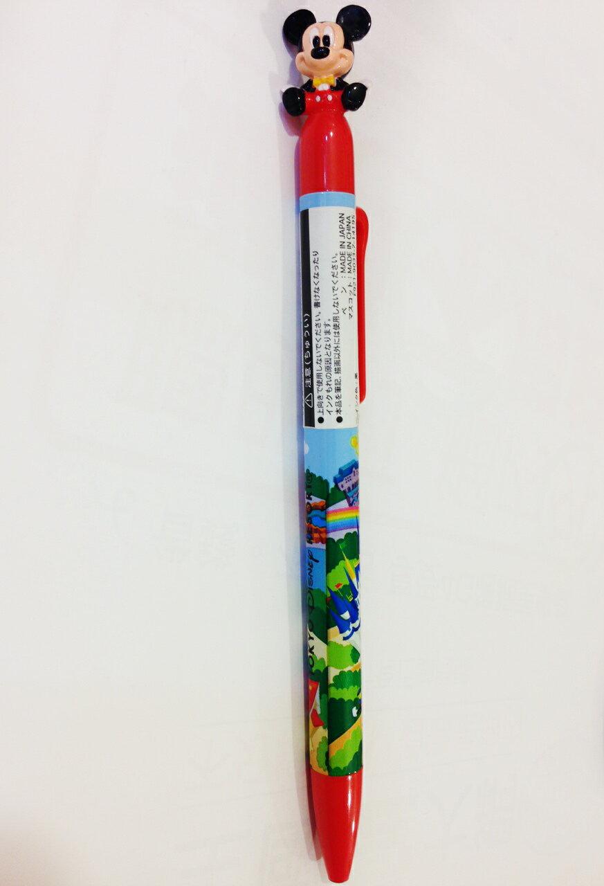 【真愛日本】14121900045 樂園限定-米奇樂園彩圖筆 米奇 米老鼠 迪士尼 原子筆 書寫 文具用品