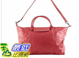 [COSCO代購 如果沒搶到鄭重道歉] Longchamp 皮革女士手提包 _W706655