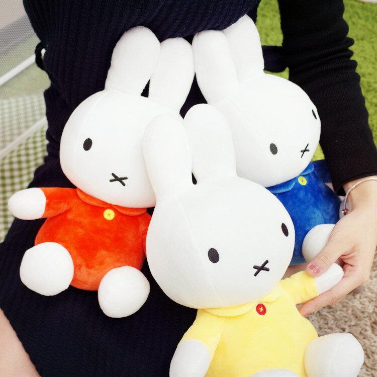 PGS7 日本卡通系列商品 - 12吋 米飛兔 Miffy 兔兔 坐姿 娃娃 玩偶 兔子【SJK7176】