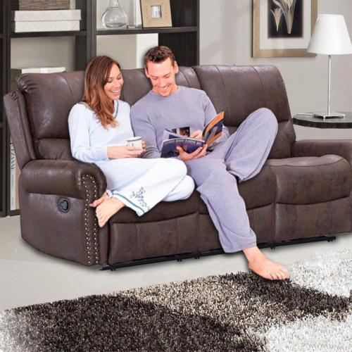 Miraculous Recliner Sofa Set Reclining Couch Sofa Leather 3 Seater Home Theater Seating Inzonedesignstudio Interior Chair Design Inzonedesignstudiocom