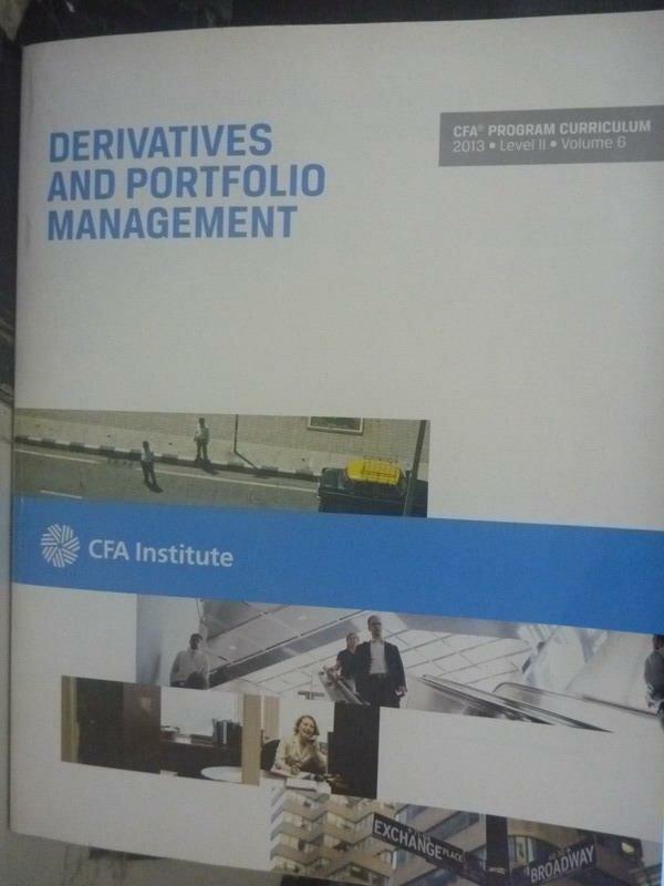 ~書寶 書T7/大學商學_ZBU~2013 Level II Vol.6~Derivati