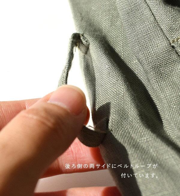 日本e-zakka / 亞麻長版薄大衣 / 32592-1801292 / 日本必買 代購 / 日本樂天直送(8900) 9