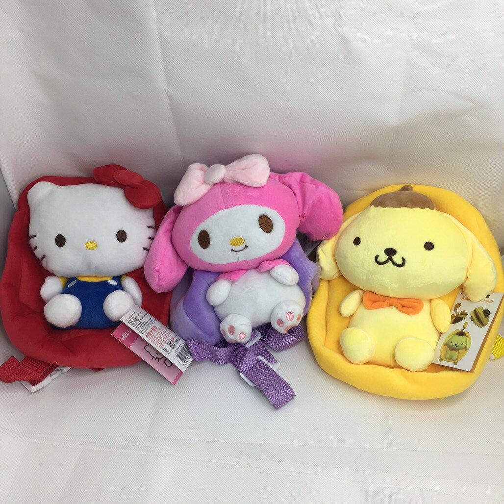 大賀屋 Hello Kitty 背包 後背包 包包 小包 外出包 旅行包 後背 凱蒂貓 三麗鷗 正版 T00120403