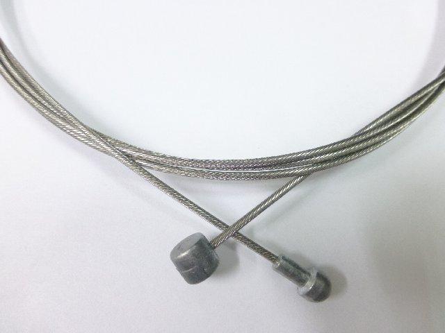 《意生》1700mmSLICK研磨加工雙頭白鐵煞車線 CHUEN HAN 登山車公路車白鐵剎車線JAGWIRE參考