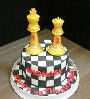 父親節蛋糕推薦到6吋西洋棋造型蛋糕 生日 活動 父親節 紀念就在FANCY CAKE推薦父親節美食