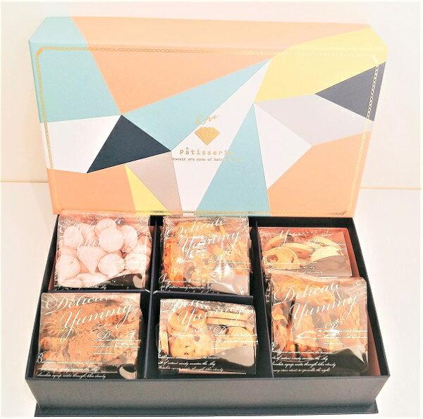 FANCY CAKE:手工餅乾六入禮盒