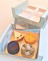 抹茶蛋糕推薦-抹茶紅豆蛋糕法式甜點優雅四入禮盒。就在FANCY CAKE抹茶蛋糕推薦-抹茶紅豆蛋糕