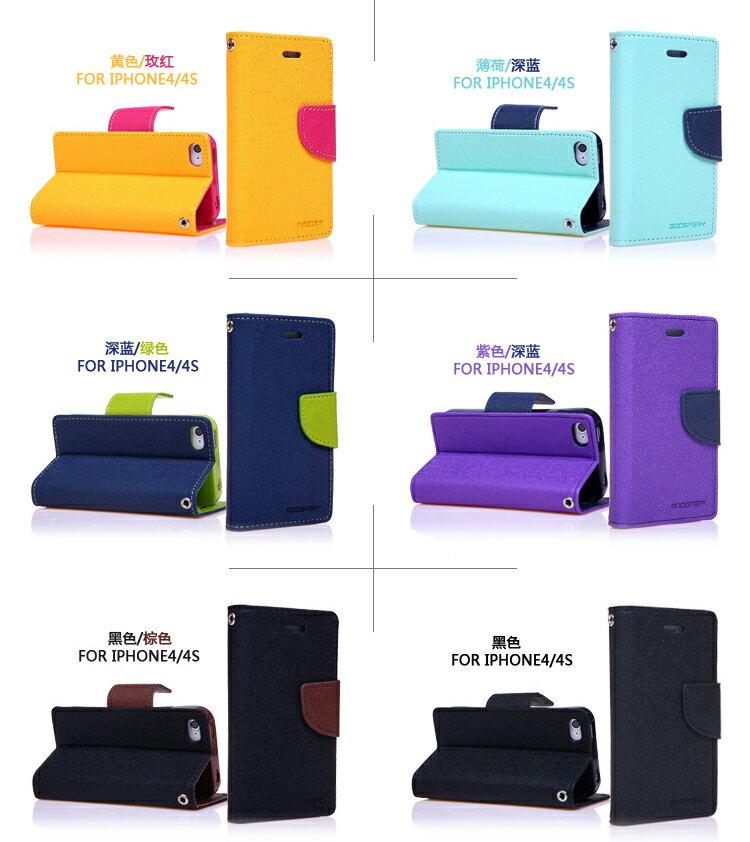 韓國Mercury雙色側翻手機皮套/可立式 4