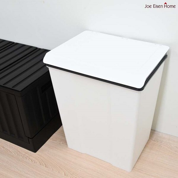 樹德收納桶 垃圾桶 回收桶 黑白色 RB 28L 台灣製MIT