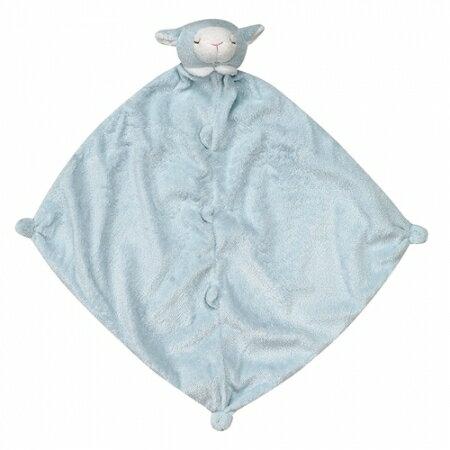 美國 ANGEL DEAR 動物嬰兒安撫巾(藍色小羊)*夏日微風*