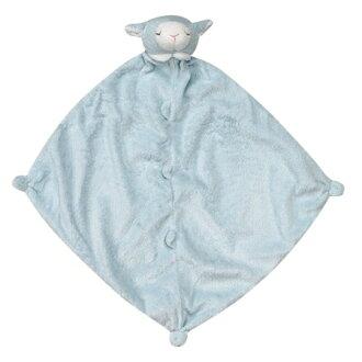 美國 Angel Dear 動物嬰兒安撫巾 藍色小羊 *夏日微風*