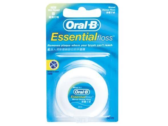 專品藥局 Oral B 歐樂B 牙線(薄荷微蠟) 50公尺【2003236】 1