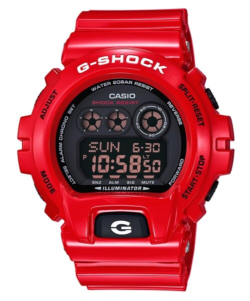 CASIO G-SHOCK GD-X6900RD-4喜氣洋洋時尚腕錶/紅面57*54mm