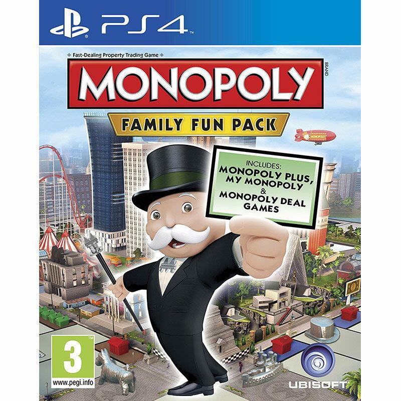 PS4 大富翁地產大亨:家庭歡樂包(獨家附瘋狂兔子地圖) 三合一合輯 -英文版-