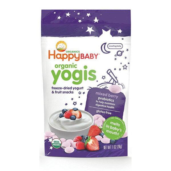 Happybaby 有機嬰兒優格餅(綜合莓果) 28g
