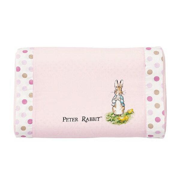 奇哥 花園比得兔 乳膠中童枕 / 枕頭 / 乳膠枕(附枕頭套)(粉色) 0