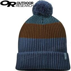 Outdoor Research 登山保暖帽/毛帽/毛線帽/針織帽/毛球帽 Leadville Beanie 268061 1230 藍色