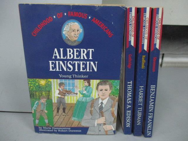 ~書寶 書T7/語言學習_OOA~Albert Einstein_Harriet Tubm