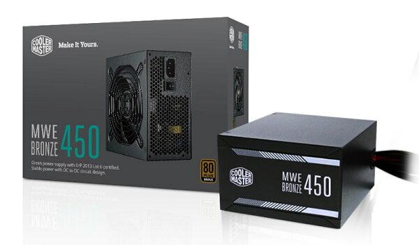 【迪特軍3C】COOLMASTERMWE系列MWEBronze450電源供應器PC電源供應器POWER