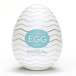 日本 Tenga Egg001 自慰蛋1號 Wavy 波浪型構造 波浪型挺趣蛋 自慰蛋 EGG-001 自慰套 情趣用品 按摩棒 名器 跳蛋