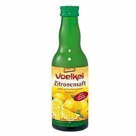 德國維可Voelkel~有機檸檬汁200ml  罐