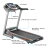 Electric Treadmill Exercise Equipment Machine Running Training Fitness Gym Home 2