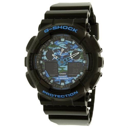 Casio Men's G-Shock GA100CB-1A Black Resin Quartz Watch 0