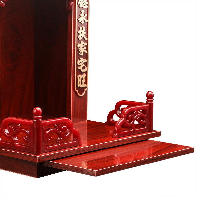 神龕 佛龕供台壁掛式家用神台小型現代簡約客廳關公財神供奉台佛櫃吊櫃『XY1426』