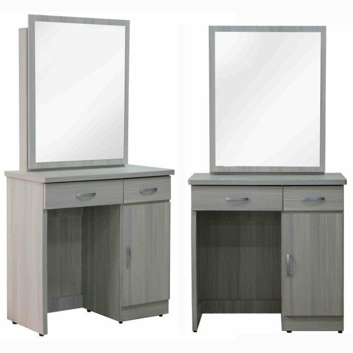 【尚品傢俱】642-08 比揚 雪白松鏡台(含化妝椅)~另有胡桃色鏡台/化妝鏡台/梳妝台/儀容整理桌/美麗魔鏡桌