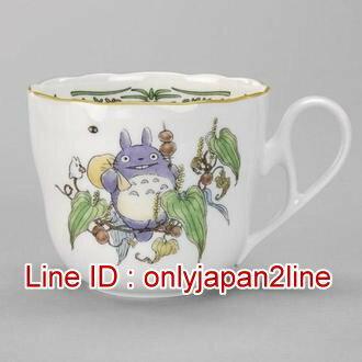 【真愛日本】16121600102流線瓷杯-藍龍貓背袋     龍貓TOTORO豆豆龍  收藏  杯子