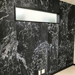 黑色大理石紋 客廳施工案例