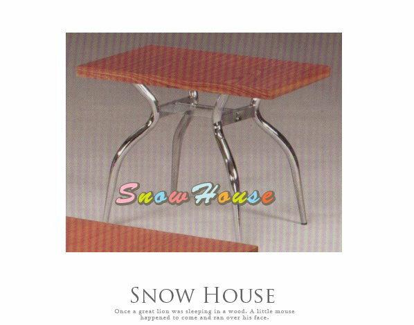 ╭☆雪之屋居家生活館☆╯A385-06 電鍍腳歐風小茶几/餐桌/茶桌/咖啡桌/置物桌**櫻桃色