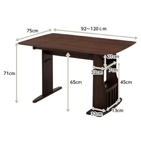 ◎可伸縮兩人餐桌椅組 ROA MBR NITORI宜得利家居 6